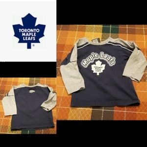 Toronto Maple Leaves long sleeve shirt size 2
